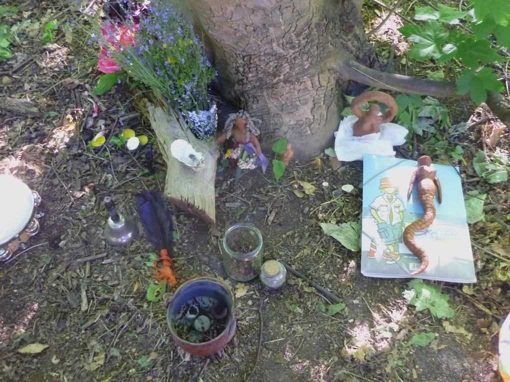 rituel de clôture du festival 2010
