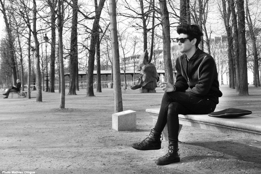 Paris, Jardin des TuileriesLundi 22 mars 2010