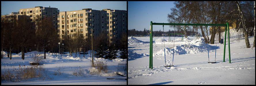 Reportage et paysage au nord de l'Europe &#x3B; la Finlande en hiver, c'est peu de soleil et beaucoup de froid.©Guillaume Roujas 2011 - roujasg@yahoo.fr