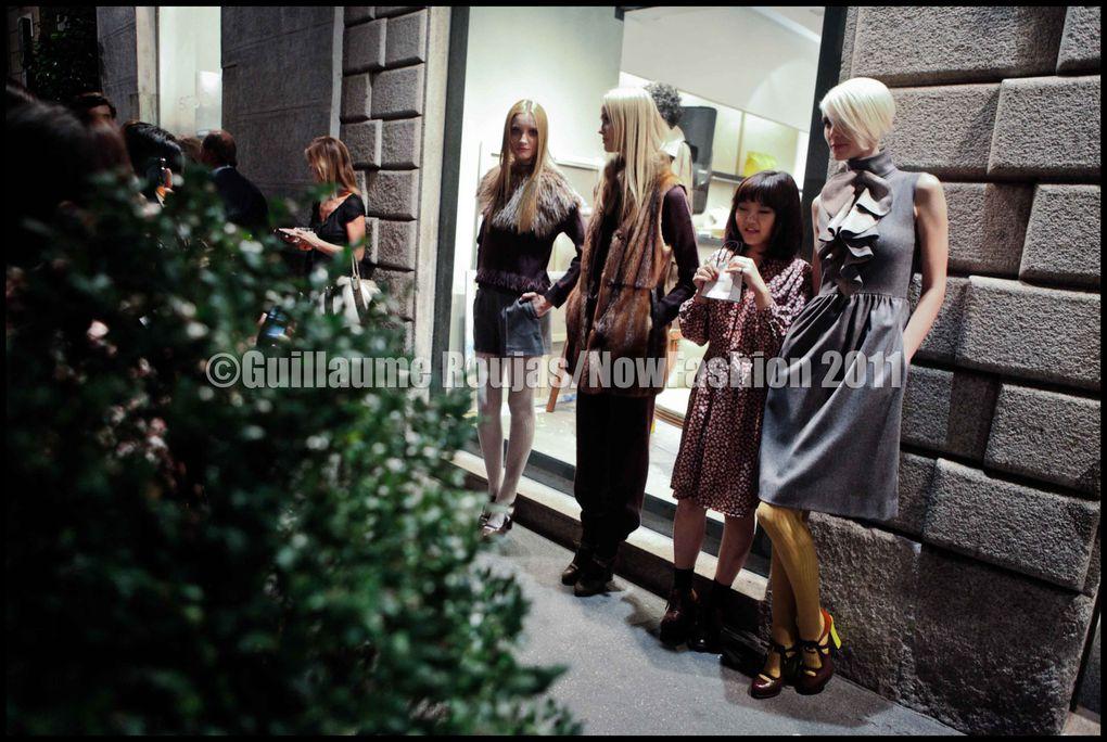 Vogue Fashion Nigth Out de Milan, Septembre 2011 pour NowFashion/Vogue Italia.