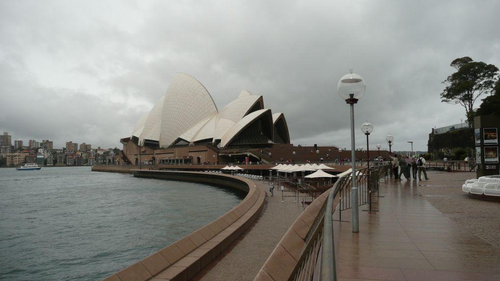 quelques instantanés de melbourne et de Sydney