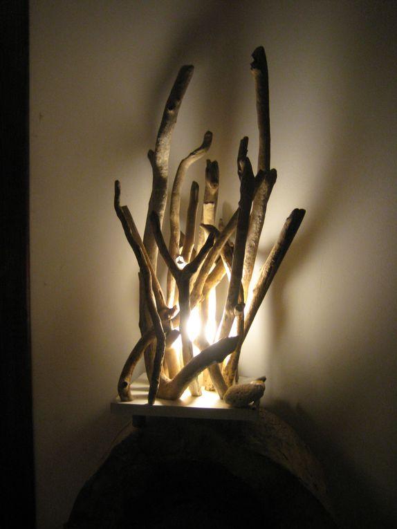 Album - lampes-bois
