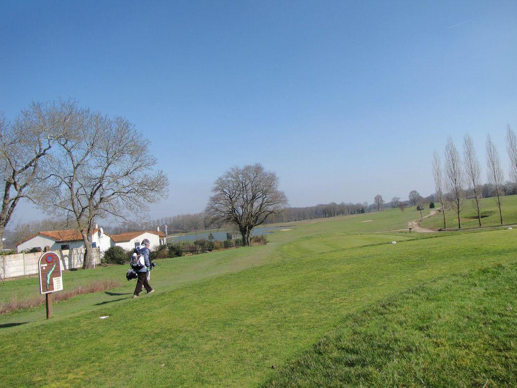 Yann et Alexis au golf des Forges (79)