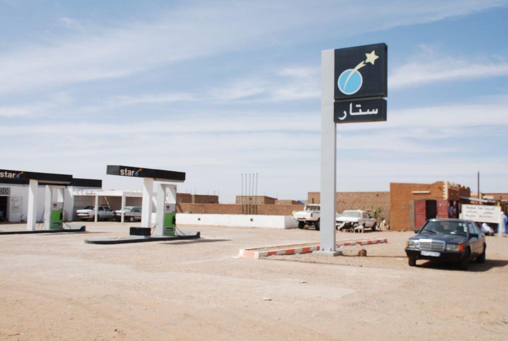 Trajet en camping-car El Asma Atar