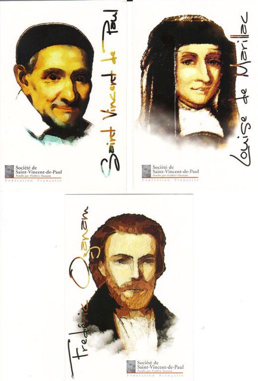 Les membres fondateurs de la Société Saint Vincent de Paul