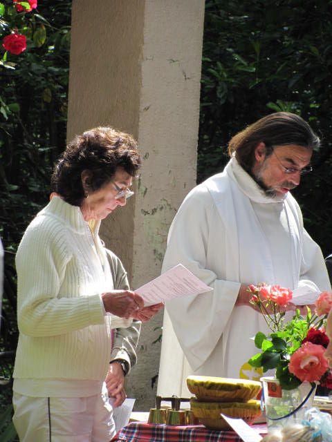 Album - 2011 (01) 12/06/2011 à Saulxures, messe en plein air à la chapelle de Bénaville