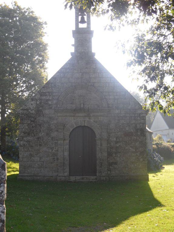 Chapelles du finistère sud et nord