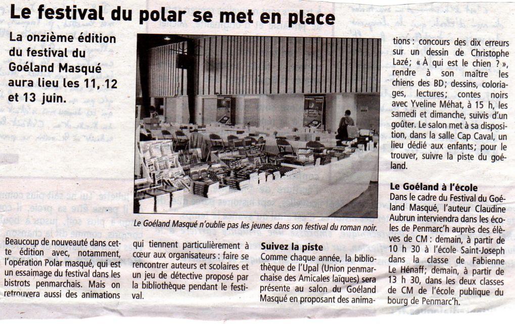 Salon du polar de Penmarc'h