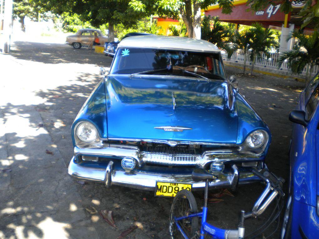Photos prises pendant le voyage de Stépan à Cuba