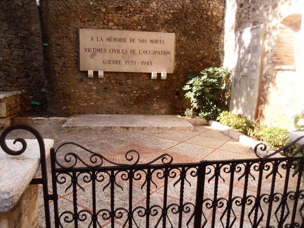 Je vous présente le vieux village de Saint Laurent du Var...