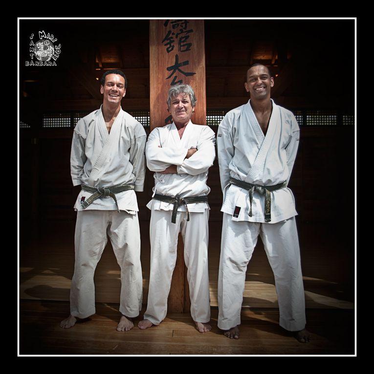 Séjour à Los Angeles et Stage à Santa-Barbara chez maître Ohshima. Entrainements dirigés par Michel Asseraf et Maître Ohshima
