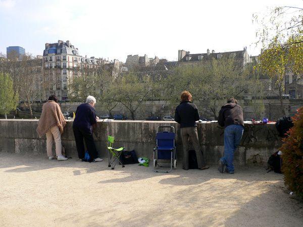 sortie aquarelle sur Paris