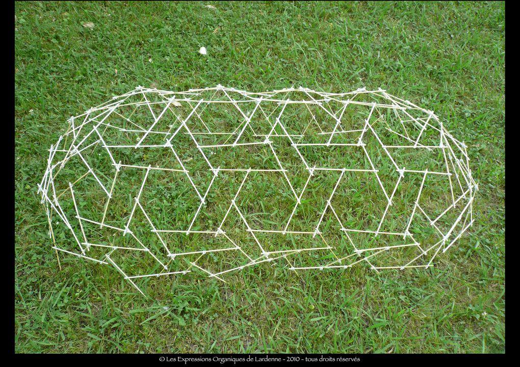 Album - dome allongé (base : icosaèdre tronqué complexifié)