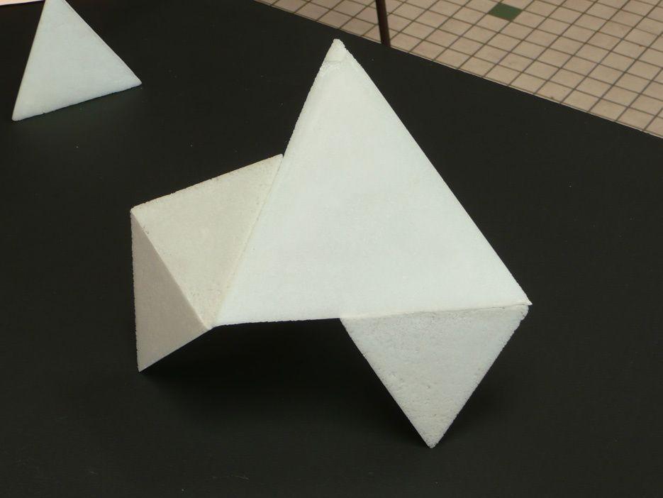 """Présentation d'une sélection de travaux d'""""élèves de l'atelier. Thème : l'enveloppe"""