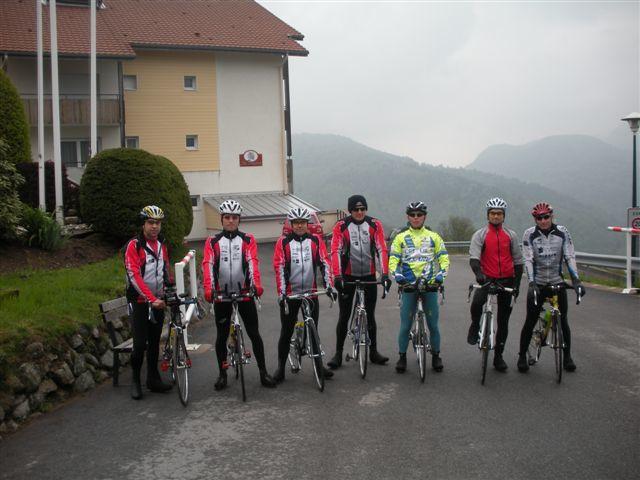 Notre stage tri au col de Bussang, au centre Azureva.