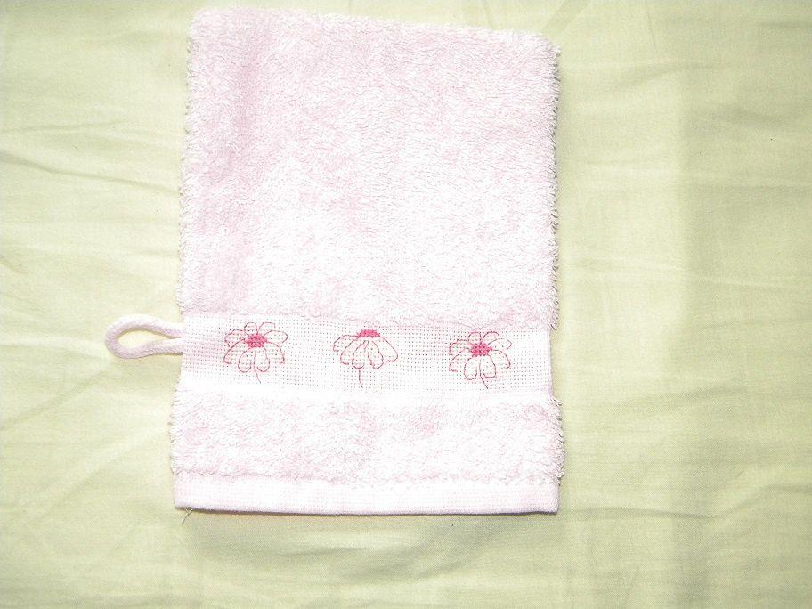 Album - Serviettes-brodees-roses