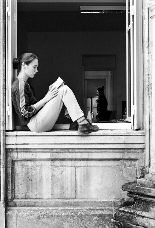 Quelques clichés du projet Mirage lors de la session de travail en France, par la photographe Maja Medic. Août 2006
