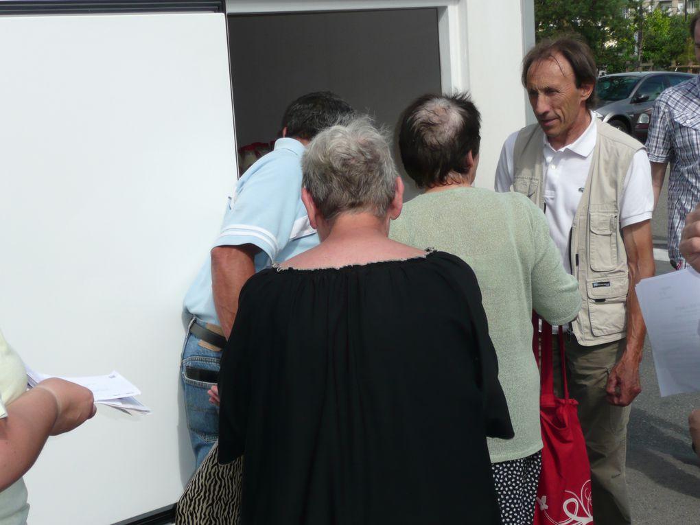 Avec les producteurs bretons et la fédération de Seine-et-Marne du PCF.
