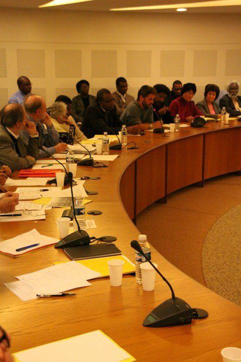 Album - Restitution-Colloque-BAMAKO---20-octobre-2010 au Conseil National du PCF