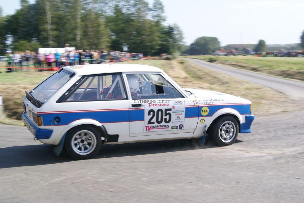 Rallye du Béthunois 2012 qui compte pour la coupe de France des RALLYES .et pour la coupe de France des Rallyes V.H.C
