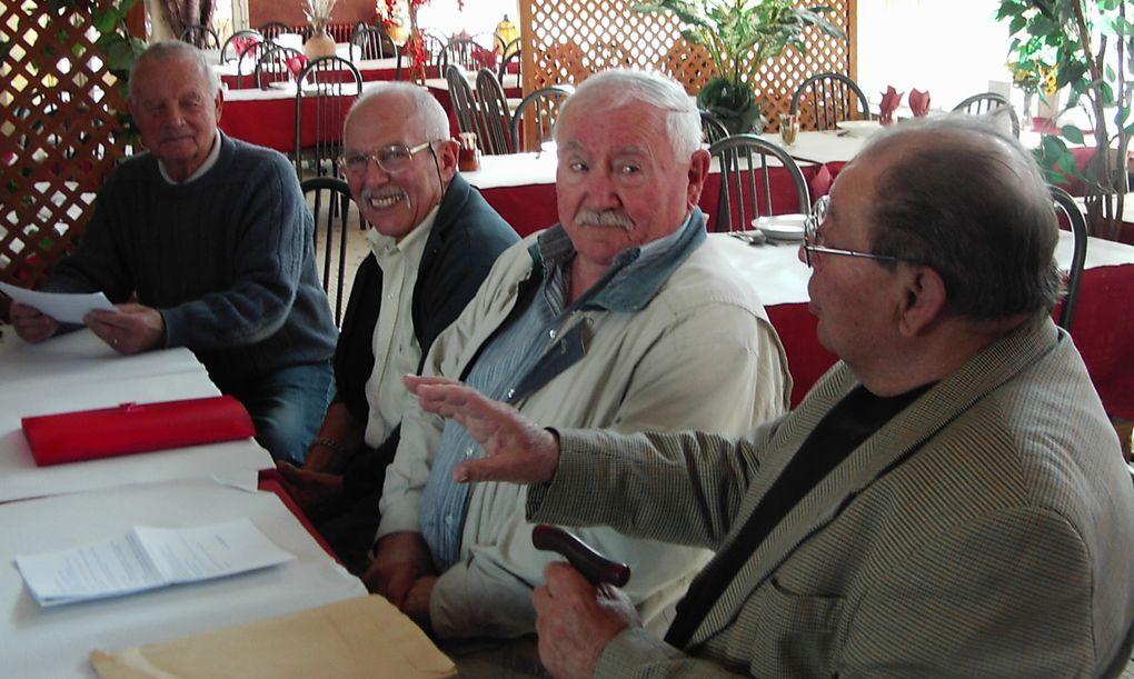Une photo du groupe composant le Conseil d'Administration de la 1533° Section. Ce 14 avril 2011 à Artix (64)