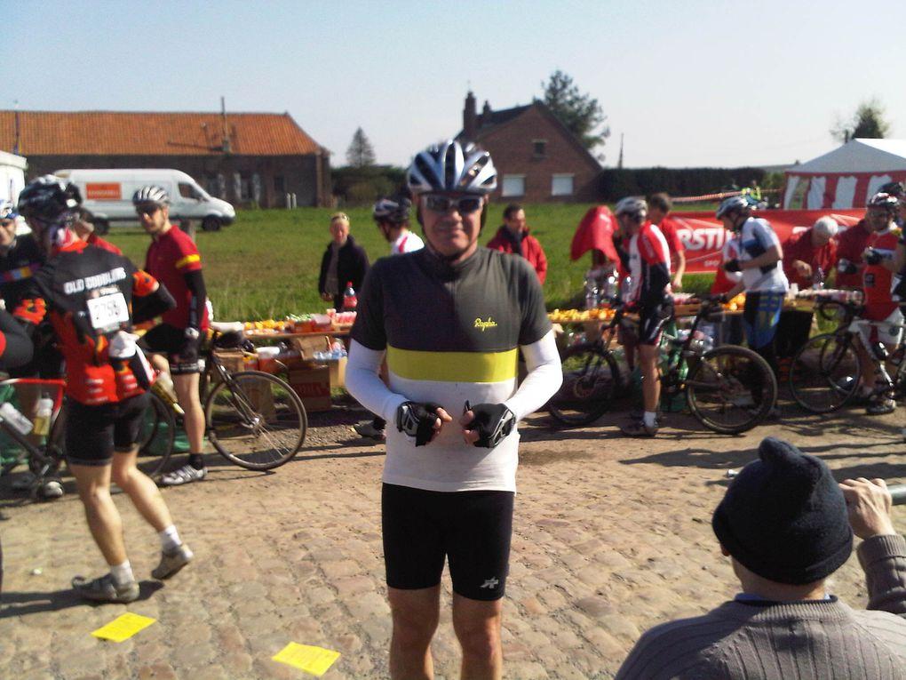 Julien en action sur le Paris Roubaix Challenge Avril 2011