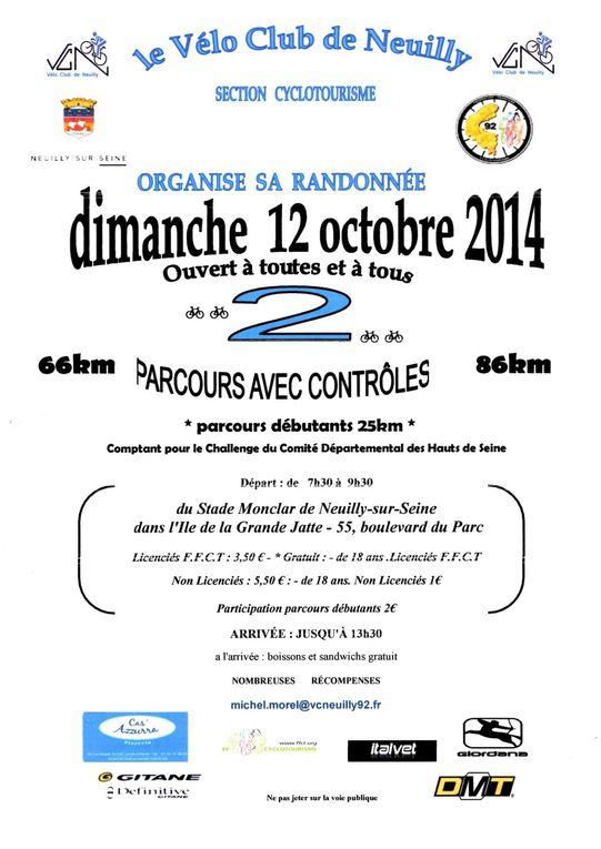 Album - 2014/10/12 Rando de Neuilly