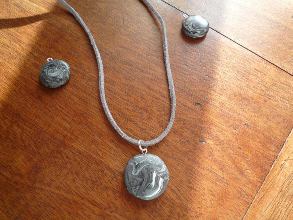 boucles, bague ou bracelet assortis visibles ds les albums correspondants