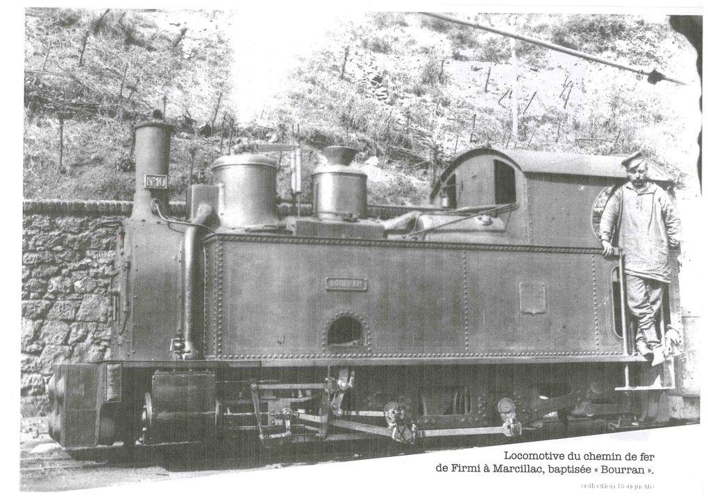 Au temps de l'exploitation des mines de fer de Mondalazac par les aciéries de Decazeville.