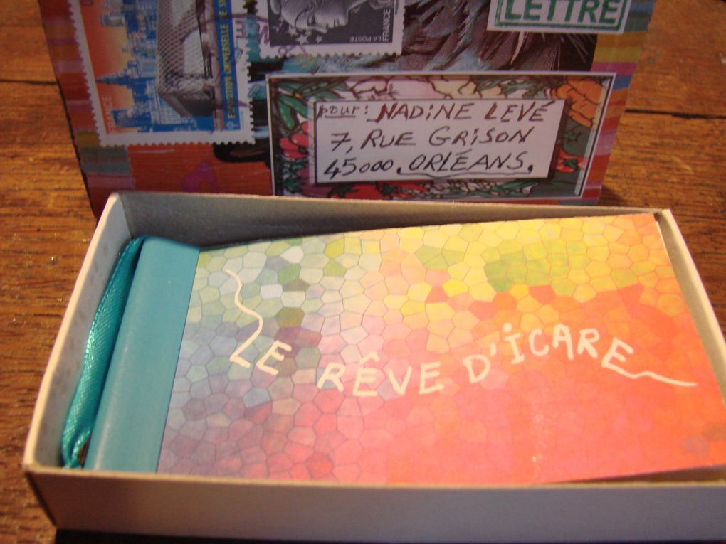 Carnets art-postal reçus