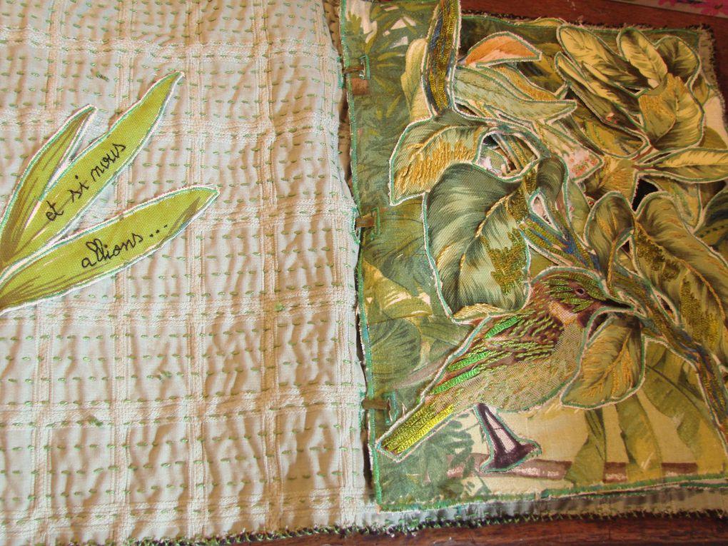Création de livres textiles (suite)