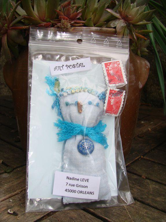 Echanges avec Pascalou de petites poupées fétiches et magiques