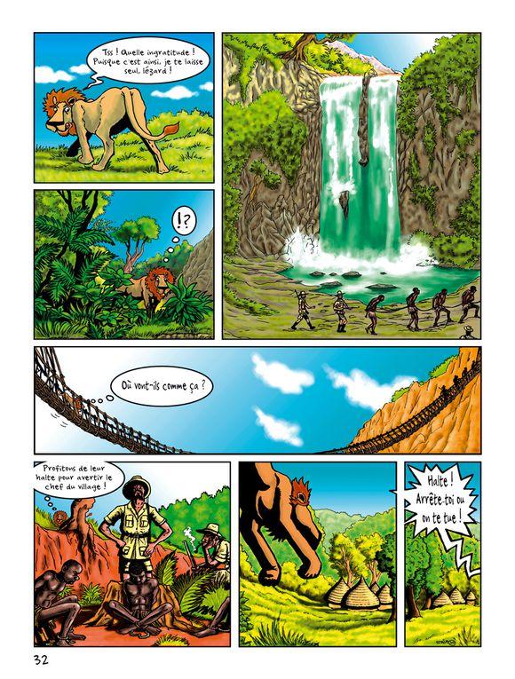 Cette BD est sortie en avril 2010 de l'imprimerie ZURE. C'est un album encore une fois animalier au coeur de la jungle et de la savane africaine! Un livret pédagogique de 9 pages est fourni gratuitement par renvoi de mail sur demande.