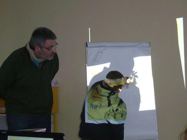 Atelier qui a eu lieu dans le cadre des Rencontres de Campagne. C'était le 1er dans cette médiathèque et merci d'avoir commencé avec Ström !