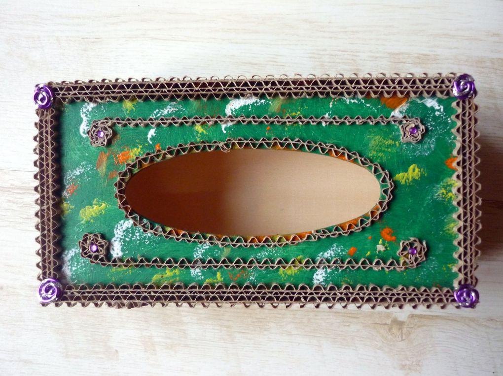 mon 1er miroir en carton