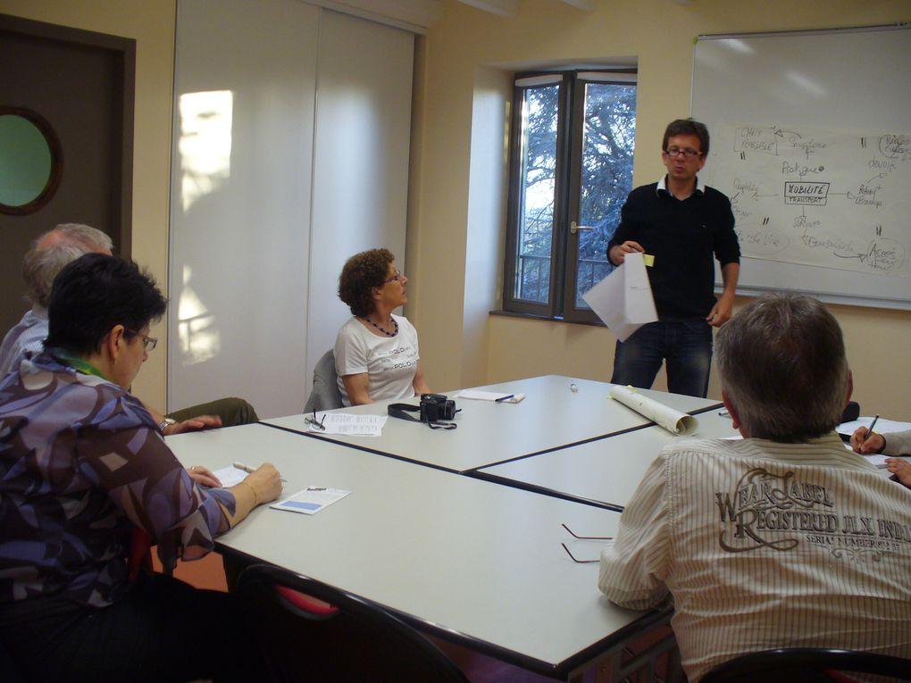 Images des temps forts de la démarche d'Agenda 21 de la Ville de Trévoux, lancée le 12 février 2011