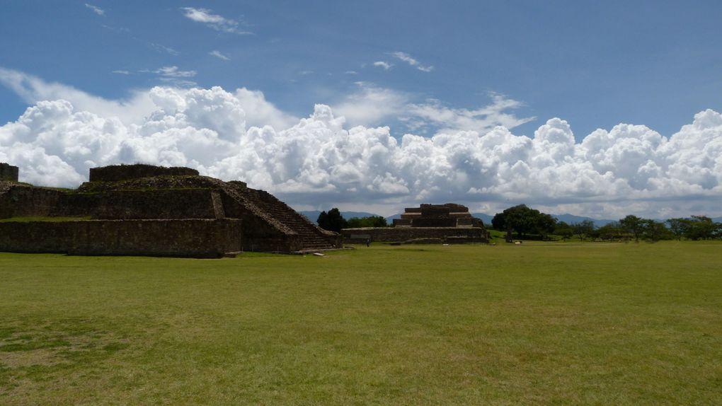 * Teotihuacan* Monte Albán* Mitza