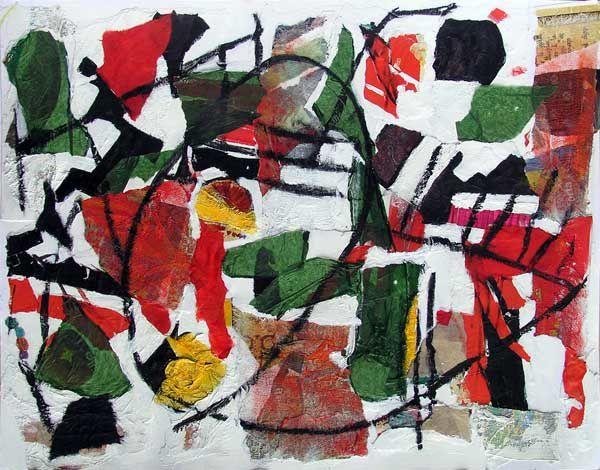 Une peinture qui se tient en équilibre entre le mouvement et la contemplation, le faire et le défaire. Parfois figurative, parfois non ? Elle ne se pose pas la question mais y répond : regardez et vous verrez...