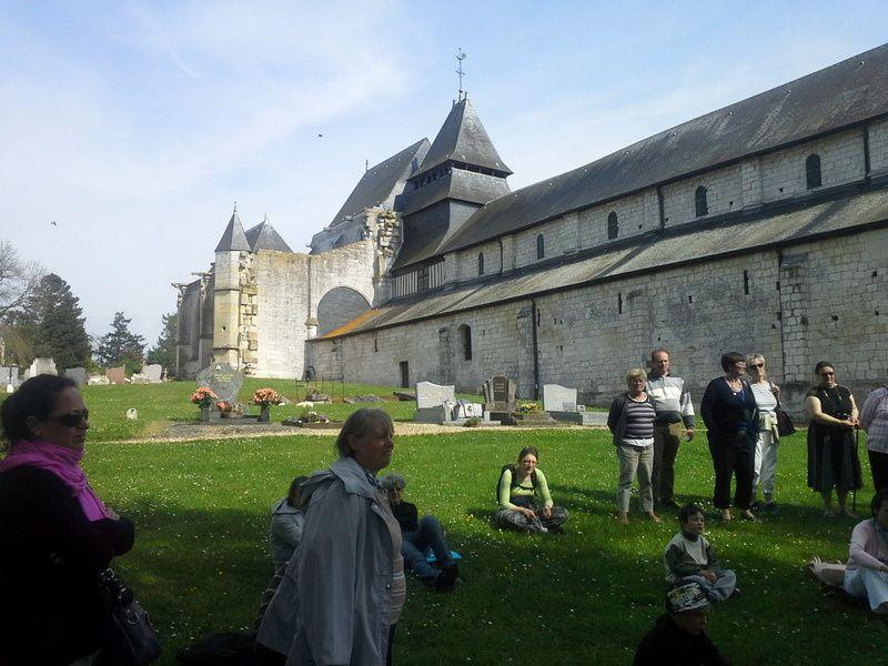 Album - 3 sortie-paroissiale-St-Wandrille-Jumieges