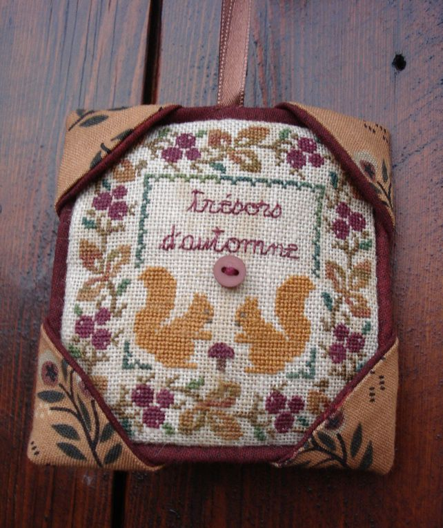 Album - broderie supports divers