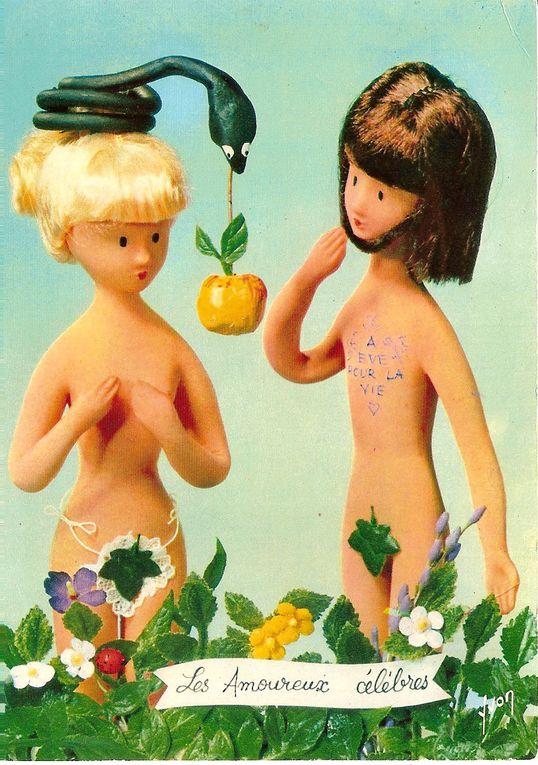 """ma collection de cartes Postales les amoureux de """"Peynet"""""""