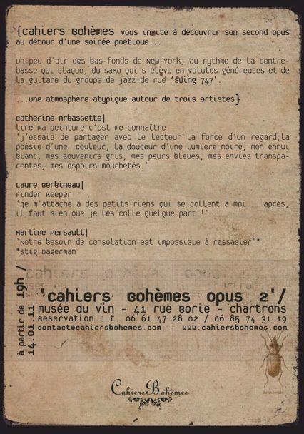 Album - Cahiers-bohemes