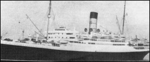 photos paquebots de la Cunard