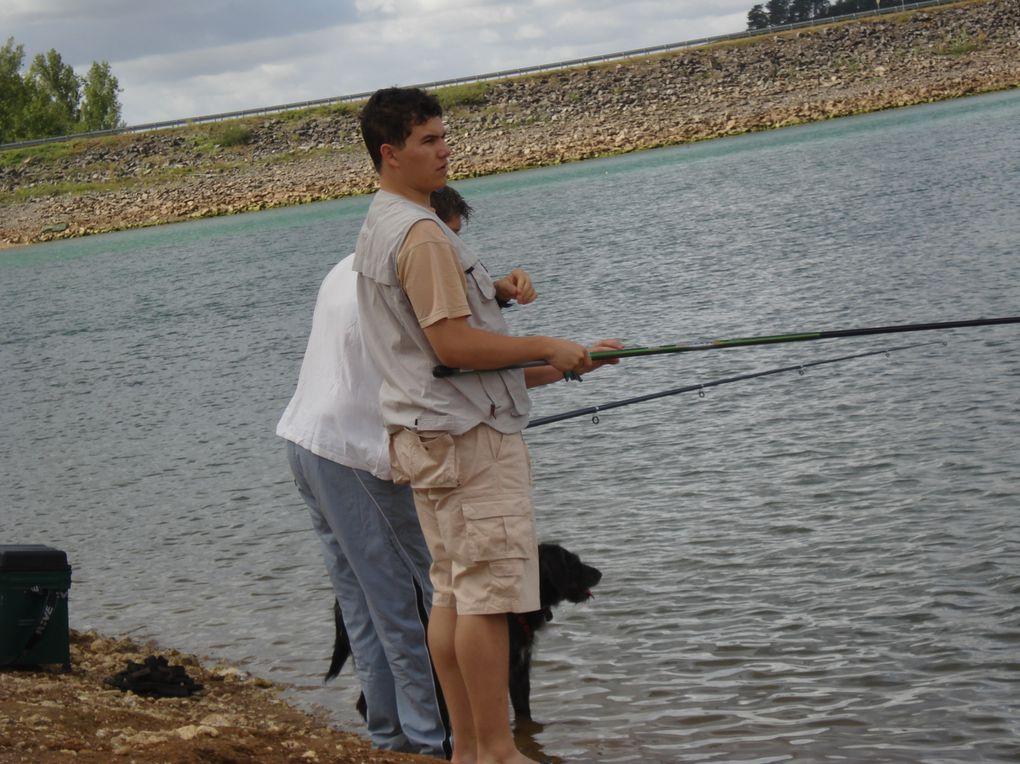 Photos weekend pêche 26 au 28 août 2011