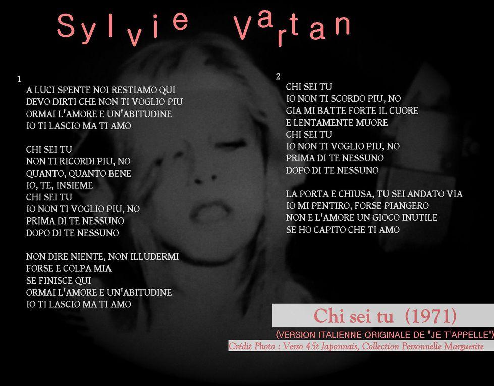 Album - Rétrospective Jaquettes Paroles