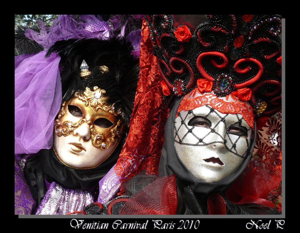 Carnaval de Venise qui se passe tous les ans à Paris au mois d'avril