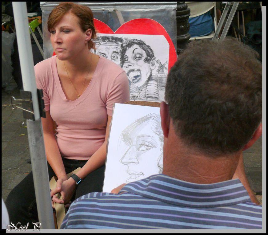 Photos prises pour la plupart à Montmartre