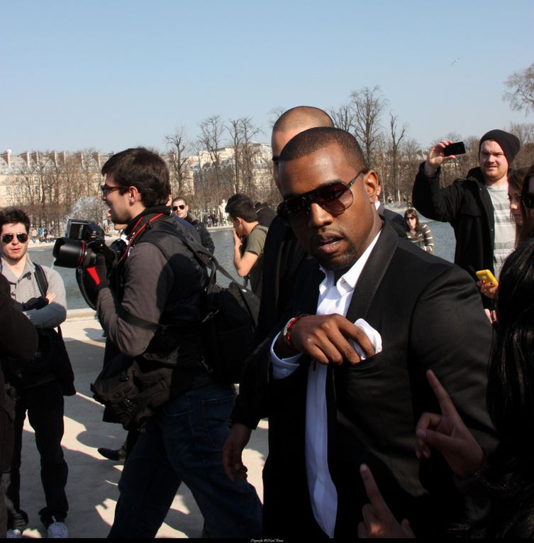 During Fashion week at Paris march 2010