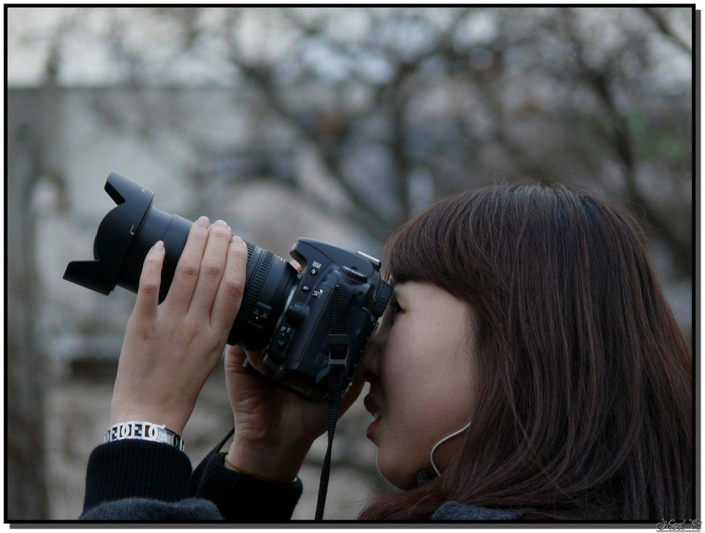 Photos de personnes étant en train de photographier