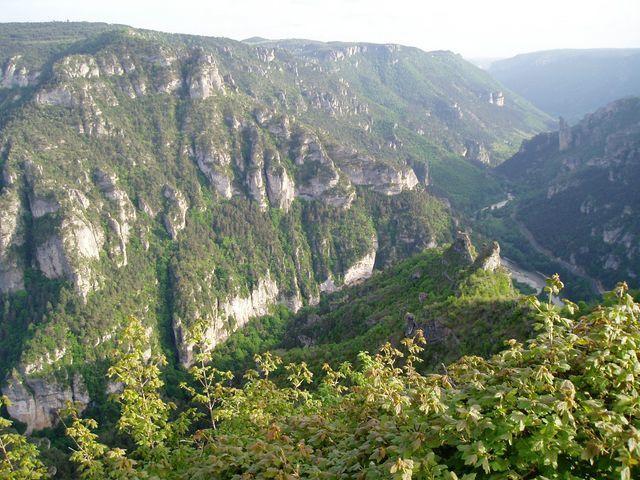 Balade en sud Massif central et retour par la Corrèze.